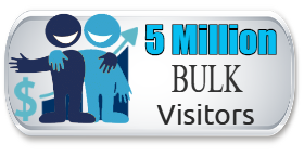Bulk Traffic 5 Million-ONE DAY SALE $10.49